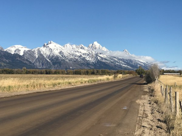 The majestic Tetons